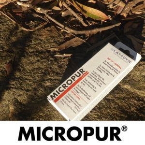 micropur water purification tablet