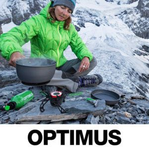 optimus outdoor stoves and accessories