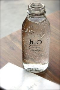 Filtered water